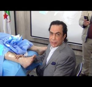 Embedded thumbnail for جلسة رفلكسولوجي لعلاج أوجاع القدمين و الكعب
